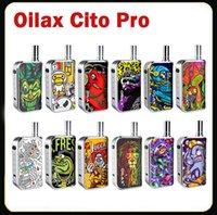 100% Authentic atomizer kits Adjusted Battery Vol Oilax Cito Pro Vape Pen Vaporizer 2 in 1 Starter Kit Electronic Cigarette 400mAh Variable Voltage vapes Preheat