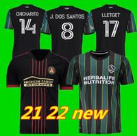 MLS 21 22 La Galaxy Soccer Jersey Atlanta United FC Football Shirts 2021 2022 Inter Miami CF Chicharito Pavon الفانيلة الرجال + Kids Higuain