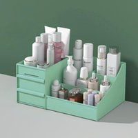 Storage Boxes & Bins Cosmetic Box Large Capacity Desktop Lockers Compartment Sorting Drawer Type Lipstick Jewelry Container