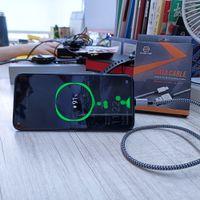 Etmaxter 착용 방지 1m 3.3ft 고속 빠른 충전 전화 충전 케이블 마이크로 USB 유형 C 데이터 선 3 피트 땋는 안드로이드 IPD가있는 소매 포장