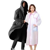 Yağmurluk Giyilebilir Tek Kullanımlık Unisex Yağmurluk Yağmurluk Moda Kalınlaşmak Yaratıcı Eva Giyilebilir Kaymaz Nefes Uzun Açık DH089 Buiw
