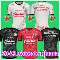 2020 2021 Xolos de Tijuana Soccer Jerseys Thailandia 20 21 Special Edition Jersey Camisa de Futebol Liga MX Casa Away Kit Camicie da calcio