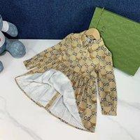 baby clothe for girl flower wedding dress kid winter clothes set sweater+skirt 100-150 cm infant girls clothing sets