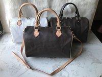 Fashions New Women Donne Messenger Travel Bag Stile classico Borse moda Borse a tracolla Borse Lady Totes Borse 30 cm con chiusura a chiave Yun87454