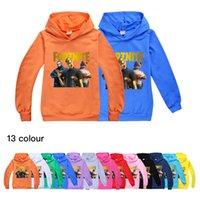 13-farbige Kinderkleidung Trend Fortnite Kinder Jungen und Mädchen Hoodie Pullover 978 Baby Kinder Kleidung Hoodies