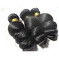 Brazilian Virgin Loose Wave Hair Weaves Queen Hair Products Natural Black Human Hair Extensions 100g One Lot Beauty Weft