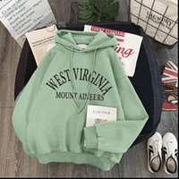 Women Sweatshirt Hoodie Autumn Winter Casual Letters Printed...
