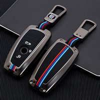 زنك سبائك سيارة مفتاح حالة تغطية حقيبة مفتاح لسيارات BMW F10 F11 F20 F25 F31 F31 F31 F34 F18 G20 E46 X3 X4 X5 M3 M4 1 3 5 7 Series Car Styling