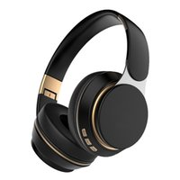 Wireless headphones stereo 5.0 bluetooth headsets foldable earphone Bass Animation showing support TF FM card buildin MIC 3.5MM