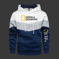 Men's Hoodies & Sweatshirts 2021 Hooded National Long Sleeve Outwear Autumn Spring Casual Fleece Warm Sportswear Thicken