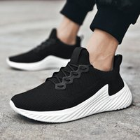 Outdoor Casual Shoes Men Comfortable Lace Up Light Sneakers Mens Breathable Mesh Shoes Male Simple Style Male Sneakers 95w3#