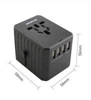 zhudiyof conversion socket travel plug multiusb charger power conversion plug socket converter