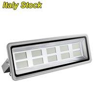 LED Holofotes 1000W 500 W 300W 200W 150W 100 W 50W 20W Luzes de inundação ao ar livre iluminação de iluminação IP65 Work Light 6000K Itália Stock