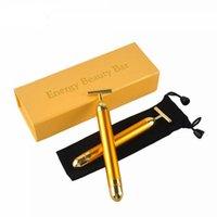 Energy Slimming Face Massage Tool Facial Beauty Roller Vibration Massager Stick Lift Skin Tightening Wrinkle Bar