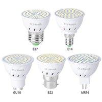 Bulbs LED High Efficiency Bulb E27 E14 GU10 B22 MR16 5 Kinds Lamp Holder 5W 7W 9W Bedroom Living Room Spot Light Chandelier
