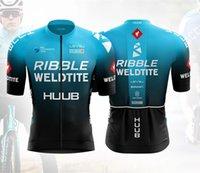 Racing Sets 2021 Huub Cycling Jersey Wattbike Men Bicycle Suit Ribble Weldtite Bike Shirts Bib Shorts Mtb Team Clothing Ciclismo Ropa Custom