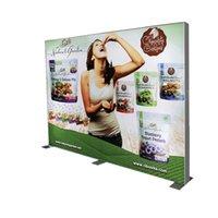 Panne d'affichage publicitaire SEG Lightbox Cadres pour l'événement de promotion avec des affiches de tissu d'impression personnalisées. Emballage plat (240x240cm)