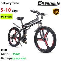 EU Shengmilo M80 전기 350W 산악 자전거 36V 26 인치 도시 접는 자전거 40km / h e-bike 오프로드