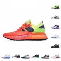 الجملة الأصول zx 2K 4d الاحذية الثلاثي الأسود والأبيض رياضة مصمم الأزياء في الهواء الطلق خفيفة الوزن الركض المدرب الرياضة الأحذية يورو 36-45