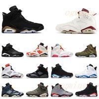 air jordan jordans aj6 retro retros Jumpman 6 6S الأشعة تحت الحمراء أحذية كرة السلة عاكسة الرجال النساء dmp unc pe millennial الوردي أحذية رجالي الرياضة هير المدربين أحذية رياضية