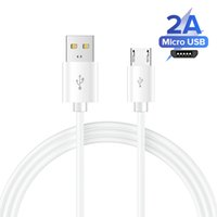 For Samsung Fast Charger micro usb Cable 1 1.2 1.5M 2A Data Line For SAMSUNG Galaxy S6 S7 Edge Note 4 5 J4 J6 J5 A3 A5 A7