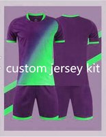 Thai quality Custom soccer jerseys or football jersey casual wear orders, note color and style, contact customer service to customize name number short sleeves the 268