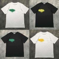 Designer of Lusso T-Shirt Brand Palms Angels T Shirt PA Abbigliamento Spray Lettera manica corta Primavera Estate Tide Uomini e donne con lo stesso 2021