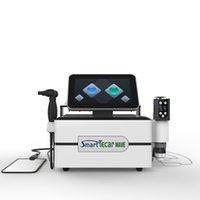 Machine de thérapie de vague de choc physique la plus récente 3 en 1 Tecar Therapy Tecar + Shockwave + EMS Vacuum Cup, une onde de choc Smart Tecar Thérapie pour la douleur Réduire