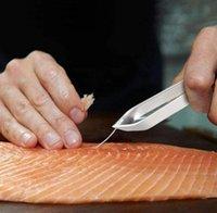 스테인레스 스틸 물고기 족 핀셋 리무버 펜치 Pincer Puller 집게 픽업 해산물 도구 물고기 클리너 주방 가제트 GWF6230