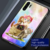 Cases Watercolor Cute Kitten Cat & Owl Phone case cover for iphone 6 6s 7 8 Plus x xr xs 11 12 13 pro max tempered glass shockproof Protector back casing