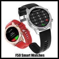 새로운 F50 Smartwatch Full Touch Screen BT Smart Baracelt 방수 Reloj Telefono 혈압 스포츠 피트니스 스마트 시계