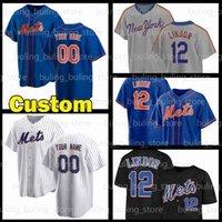 2020 2021 New Mens York Baseball Jerseys مخصص 30 مايكل كونفورتو 12 Lindor Francisco 24 Robinson Cano 2 Dominic Smith 20 Pete Alonso