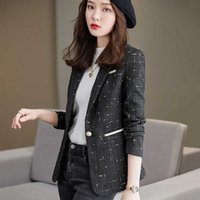 Women's Suits & Blazers High-quality Elegant Spring And Autumn Fashion Casual Self-cultivation Small Fragrance Office Business Jacket Britis
