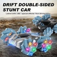 WLTOYS 2021 NUOVO 124 RC Car Mini 2.4G Telecomando 6ch Stunt Drift Deformation Buggy Car 360 gradi Flip Kids RC Cars Toy
