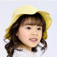 Ampla Brim Chapéus 2021 Escavar Meninos e Meninas Pescador Adorável Verão Malha De Malha De Impressão Para Bebê Outdoor Viagem Sun Caps