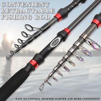 Boat Fishing Rods 1.8m-3.0m Carbon Portable Spinning Rod Ultrashort Lure Extended Handle Trout Pocket Surf Pesca