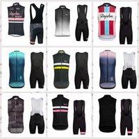 2020 Été Rapha Team Cyclisme Sans manches Jerseys Vest Bouse Shorts Ropa Ciclismo Racing Vélo Cyclisme Vêtements F61924