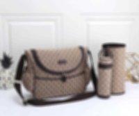 Bolsa Niños en Diaper Designer Imprimir Diseñador de alta calidad Pañal Bag para la venta Bolso de diseño de hombro funcional para las ideas del regalo de la momia