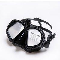 전문 수중 마스크 카메라 다이빙 마스크 스쿠버 다이빙 장비 카메라 홀더 GO PRO1