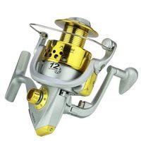 Baitcasting Reels Yumoshi SA1000-7000 12BB Fishing Reel Spinning Wheel 5.5:1 Gear Ratio L R Handle Plastic Line Cup Sea Raft Lake Boat