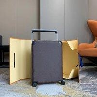2022 럭셔리 디자이너 여행 가방 수하물 패션 유니섹스 트렁크 가방 꽃 편지 지갑 막대 상자 회 전자 범용 휠 더플 백