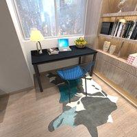ベッドルーム家具北ヨーロッパ州のダイニングルームの固体アッシュウッド多目的オフィステーブル