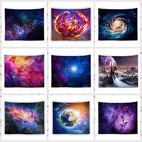 150 * 130 cm İnanılmaz Gece Yıldızlı Gökyüzü Yıldız Goblen 3D Baskılı Duvar Asılı Resim Bohemian Plaj Havlusu Masa Örtüsü Battaniye RRA4138
