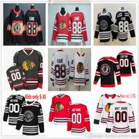 Özel Erkek Kadın Çocuk Gençlik Chicago Blackhawks Hokey Formaları 88 Patrick Kane 19 Jonathan Toews 65 Andrew Shaw 12 Alex Debrockat 00 Clark Griswold 10 Sharp