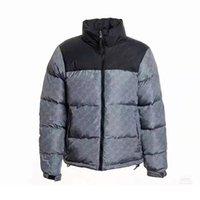 최고 품질의 남성 자켓 아래로 편지 인쇄 겉옷 겨울 코트 캐주얼 패션 윈드 브레이커 오리 두꺼운 따뜻한 여성 파카 복용 조끼 자켓