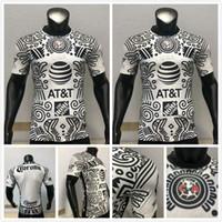Versão do jogador Liga MX 21 22 Club América Futebol Jerseys Terceiro Giovani Cáceres B.valdez 2021 2022 Maillot Branco Adulto Kit Football Shirts