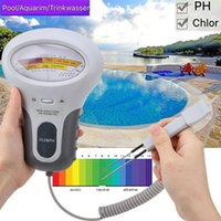 Pool & Accessories CL2 Tester Water Quality PH Chlorine PC-101 Level Portable Digital Meter Spa Analytical Instruments Dropshiper