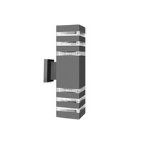 현대 미니멀리스트 LED 알루미늄 램프 위아래로 led 벽 램프 방수 IP65 야외 리드 벽 조명 정원 현관 조명 크레스트 레흐 168
