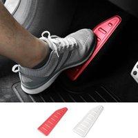 Mopai الألومنيوم الأيسر القدم دواسة بقية لوحة الديكور الداخلي ملصقات الملحقات ل jeep renegade 2015-2016 سيارة التصميم