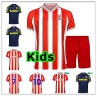 2021 Stoke City Campbell 26 Clucas McClean Futbol Soccer Jerseys Allen Ince Vokes Afobe Shawcross Gregory Smith Powell Calcio Kid Kits